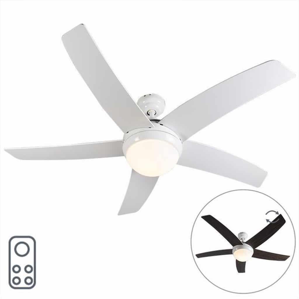 QAZQA Cool 52 Beste Plafond Ventilator